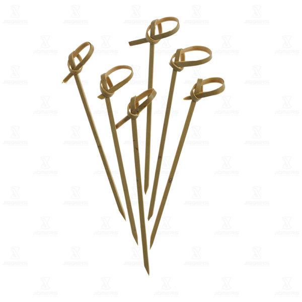 Bamboo 9cm Bow Picks | Jiggers: Bar Equipment Specialists